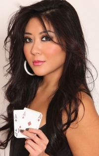 Maria Ho, une pro du poker